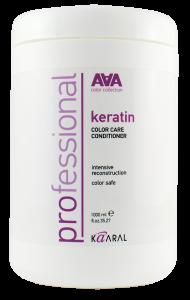 Кератиновый кондиционер для восстановления окрашенных и химически обработанных волос