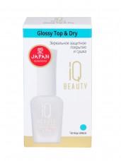 IQ BEAUTY Зеркальное защитное покрытие и сушка /Glossy Top & Dry
