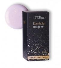 KINETICS Укрепитель для ногтей Rose Gold (п/прозрачное нежно-розового оттенка покрытие с золотистым
