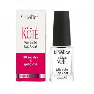 KINETICS Покрытие верхнее Kwik Kote  (верхнее покрытие для натуральных  и искусственных ногтей)